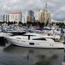 Amazing time at the Palm Beach Boat Show